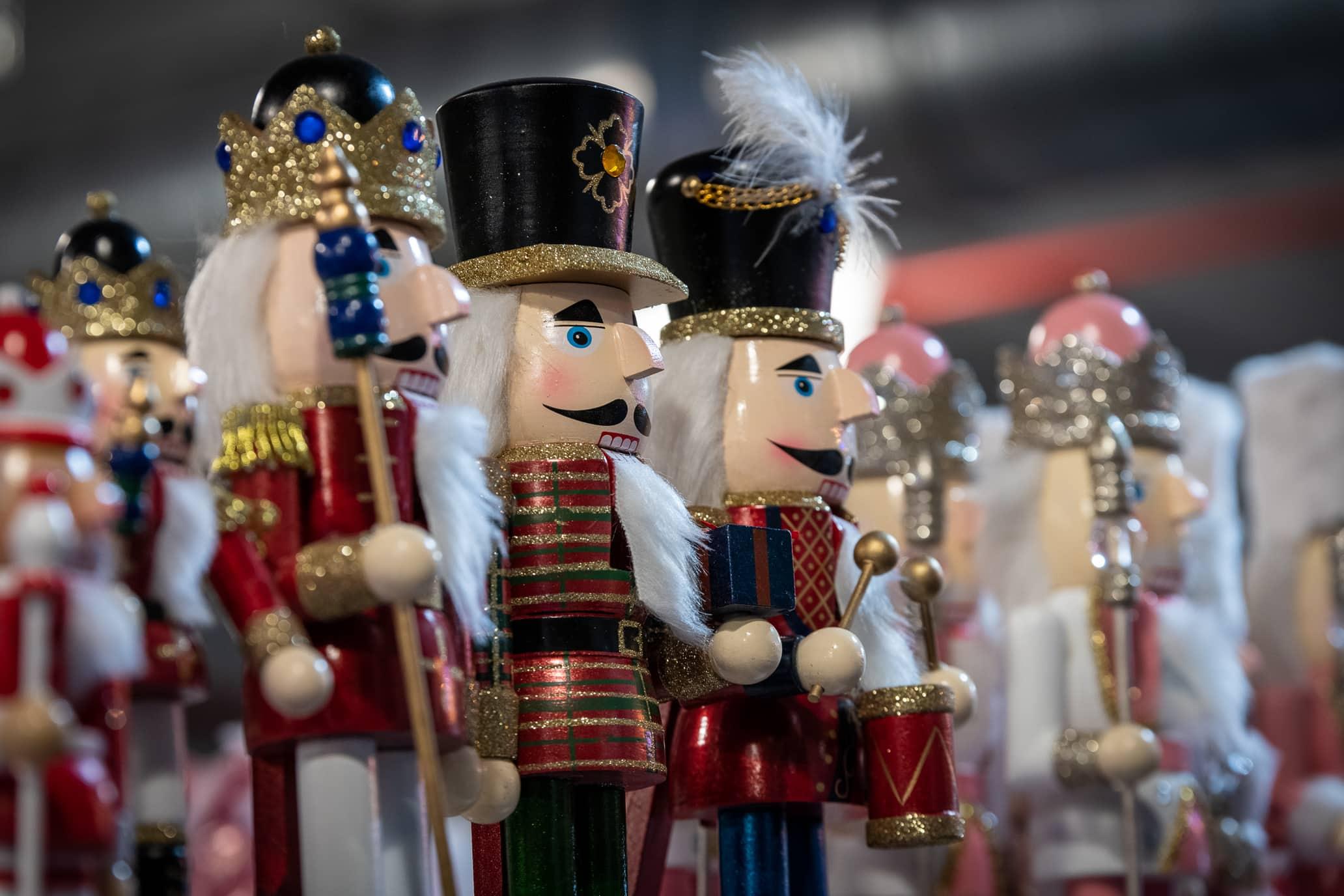 Venez visiter notre marché de Noël.