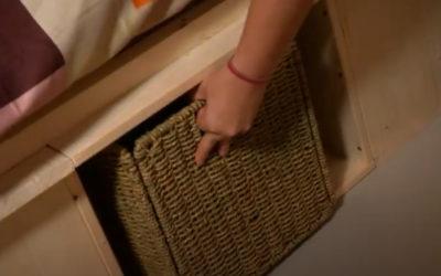 Conseil-bricolage: Un lit à rangements