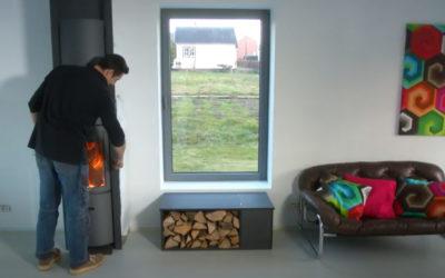 Créez un coffre à bois – banquette