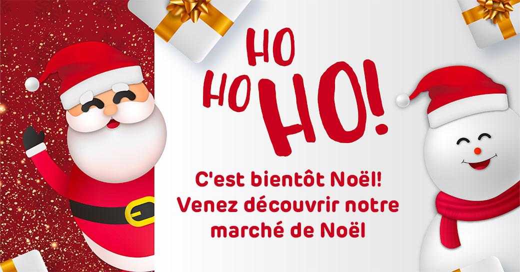 Notre marché de Noël est ouvert !